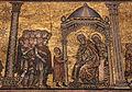 Mosaici del battistero di firenze, storie di giuseppe, 1250-1330 ca., 02 giuseppe racconta i sogni, ambito di coppo.JPG