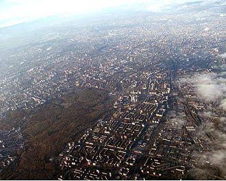 Chertanovo - Chertanovo, Bitsa Park and neighbour Moscow districts