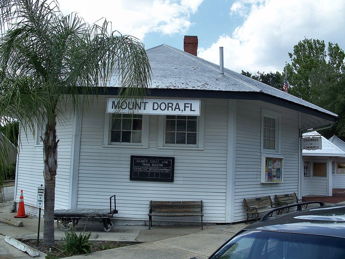 Old Mount Dora Atlantic Coast Line Railroad Station Wikipedia - Florida map mount dora
