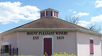 Mount Pleasant Winery - Image: Mount Pleasant Winery