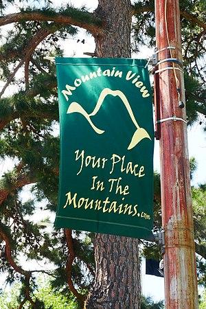 Mountain View, Arkansas - Image: Mountain View Flag