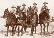 Mounted Section Aucland Mounted Rifles