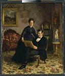 Mr Robert Constantin and Mrs Maria Eleonora Berggren (Gottfrid Virgin) - Nationalmuseum - 22812.tif