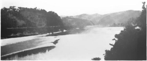 Muma River - The Muma River above the town of Xixiang (Hsihsiang) about 1917