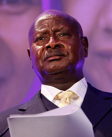 Uganda's President Yuweri Museveni. Photo: Russell Watkins/UK Department for International Development