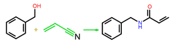 N-Benzylacrylamide from benzyl alcohol.png