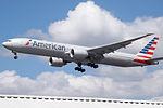 N717AN Boeing 777 American (14787526015).jpg