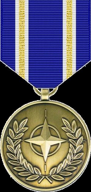 NATO Medal - Image: NATO Medal (Article 5)