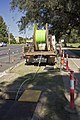 NBN Co fibre optic cable being laid in Tarcutta St in Wagga (3).jpg