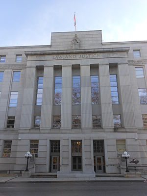 North Carolina Supreme Court - Justice Building in Raleigh, NC