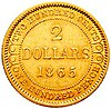 Newfoundland 2 dollar coin