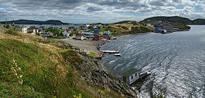 Trinity Bay (Newfoundland and Labrador) - The town of Trinity on the shore of Trinity Bay