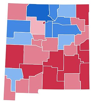United States presidential election in New Mexico, 1988 - Image: NM1988(3)