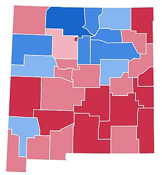 1988 United States presidential election in New Mexico - Image: NM1988(3)