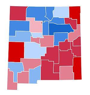 United States presidential election in New Mexico, 2000