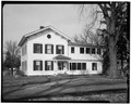NORTH ELEVATION - Jansonist Colony, Jacob Jacobson House, Bishop Hill Street, Bishop Hill, Henry County, IL HABS ILL,37-BISH,15-2.tif