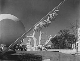 Zonnewijzer op de New York World's Fair