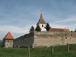 Székely Land - Fortified church of Aita Mare.