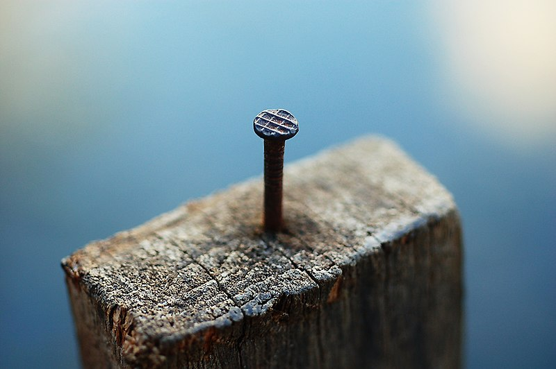Fail:Nail in a block of wood.jpg