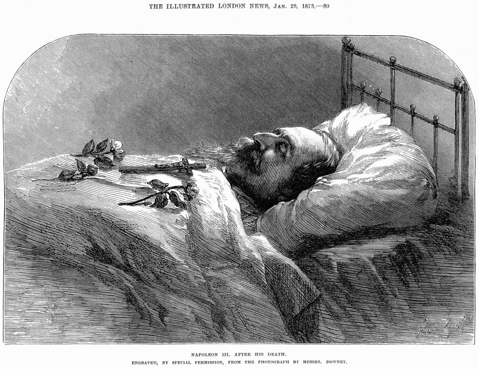 Napoleon III after Death - Illustrated London News Jan 25 1873-2