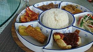 Nasi Padang - Nasi Padang