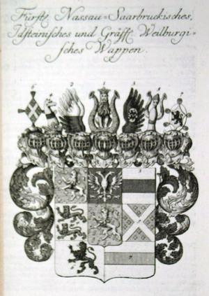 Nassau-Usingen - Arms of Nassau-Usingen.