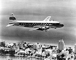 National Airlines Douglas DC-6B (4590438714).jpg