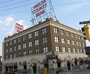 National Register of Historic Places listings in Phelps County, Missouri - Image: National Bank of Rolla Building