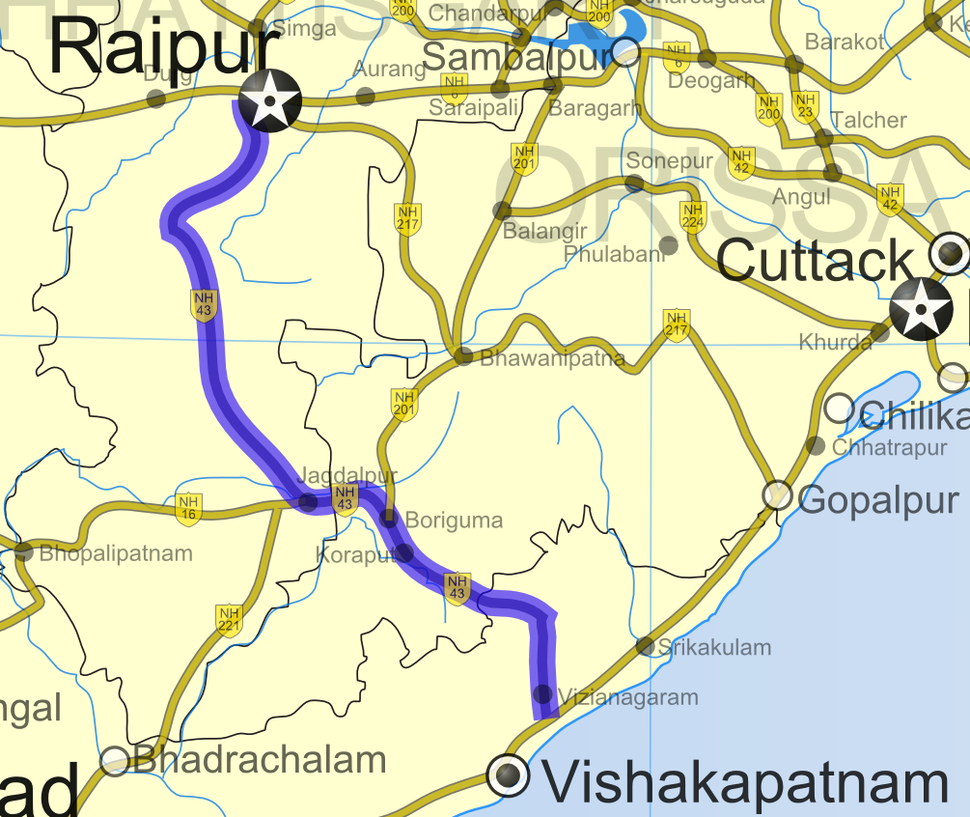 National Highway 43 (India)