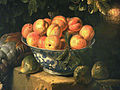 Nature morte au gibier et a la coupe de porcelaine Francois Desporte circa 1700 1710 detail.jpg