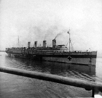 SS France (1910) - France in 1916