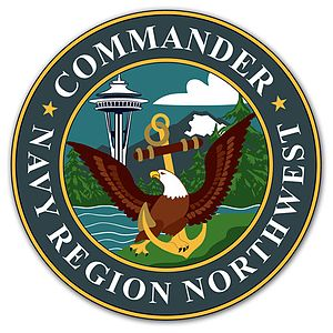 Navy Region Northwest - Command insignia of Navy Region Northwest