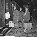 Nederlandse kernploeg naar Hamar vertrokken Lamberts, Ren van der Grift , Verker, Bestanddeelnr 915-8675.jpg