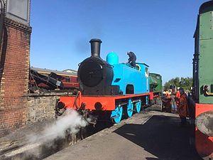 Bo'ness and Kinneil Railway - Image: Nelson Reid Number 1