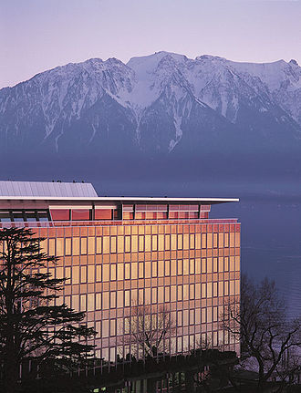 Vevey - The headquarters of Nestlé.