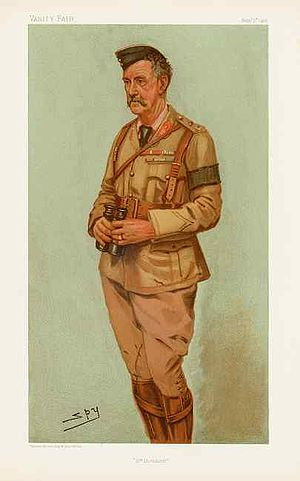 "Neville Lyttelton - ""4th Division"". Caricature by Spy published in Vanity Fair in 1901."