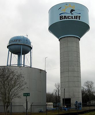 Bacliff, Texas - Bacliff Water Tower