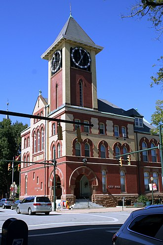 Craven County, North Carolina - Image: New Bern City Hall