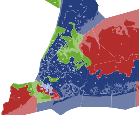 New York State Senate Wikipedia - New york city election district map