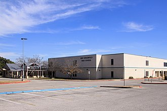 New Braunfels, Texas - New Braunfels High School