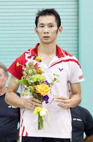 Nguyễn Tiến Minh - Image: Nguyen Tien Minh US Open Badminton 2011