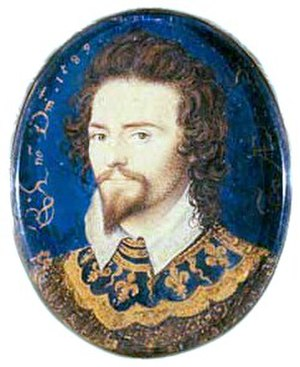 Battle of Flores (1592) - George Clifford, seen here in a miniature by Nicholas Hilliard, helped to assemble and finance the expedition