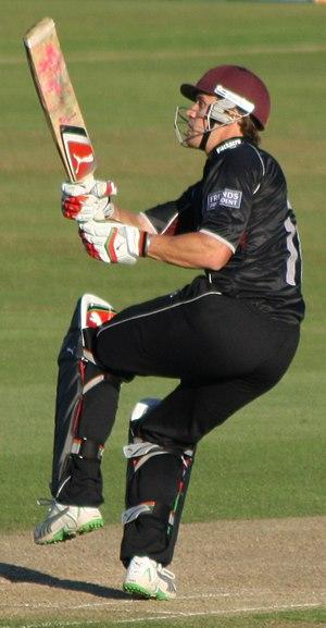 Nick Compton - Image: Nick compton batting