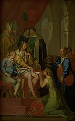 Christian I Raising the Province of Holstein to the State of a Duchy in 1460