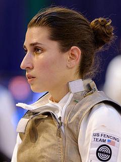 Nicole Ross American fencer
