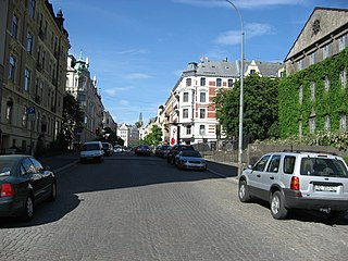 Frogner District in Norway