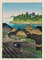Nihon fūkei senshū, Amakusa Goryō by Kawase Hasui.jpg