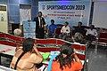 Nisith Ranjan Chowdhury Talks on Prevention of Sudden Death in Sports - SPORTSMEDCON 2019 - SSKM Hospital - Kolkata 2019-03-17 4045.JPG
