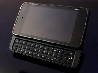 Maemo - The Nokia N900 has the Linux-based Maemo 5 OS