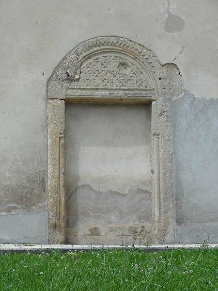 Nonhigny (M-et-M) église, ancienne porte condamnée